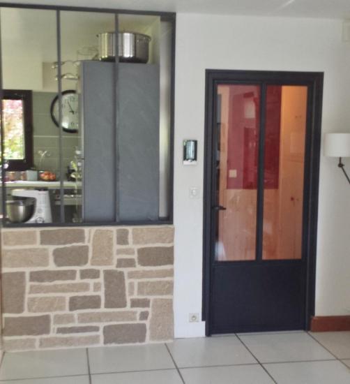 porte et verrière de cuisine