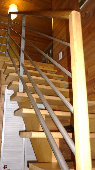 Rampe d'éscalier