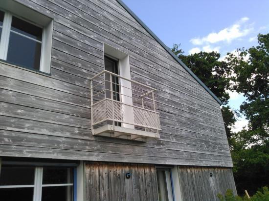 garde-corps et balcon