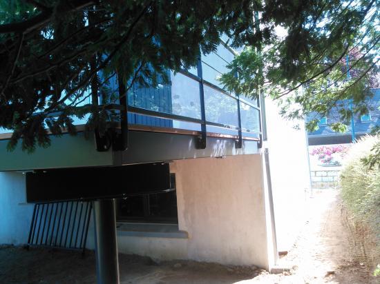 Terrasse galvanisé primaire époxy puis thermolaquage